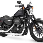 The HD Iron 883 is a Dark Movement Motorcycle