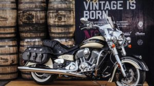 Vintage is born on this Indian Chief Motorcycle