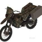 The Silent Hawk is one of the Silent Motorcycles DARPA is looking at for our SpecOps Division