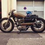 Vintage Yamaha Cafe Racer