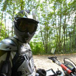 Motorcycle Armor that protects your chest is important.