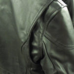 Gussets at the rear allow the back of Quality Motorcycle Jackets to stretch without binding when reaching for the handlebars.