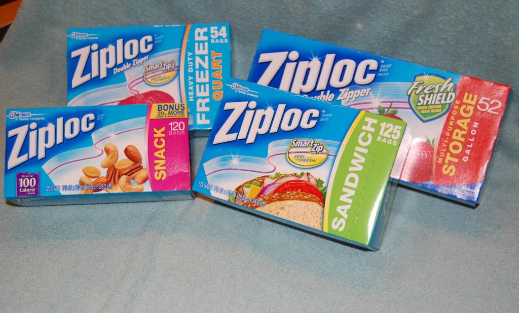 Ziploc Bags Various Sizes 1024 618