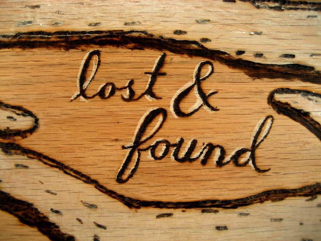 lost and found sign template