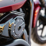 Fire up the engine and you hear the pure signature rumble of a Harley-Davidson V-Twin
