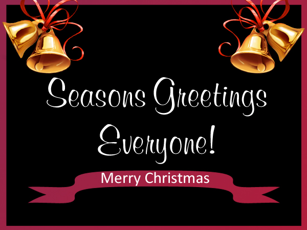 Merry Christmas & Seasons Greetings to You from All of Us at AMERiders!