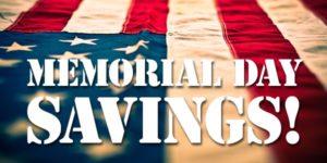 AMERiders May Savings