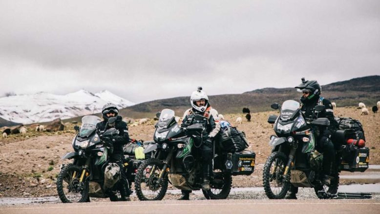 Four Military Veterans Ride