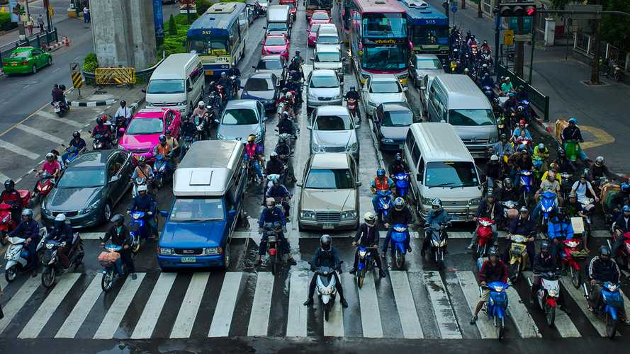 legalized lane splitting