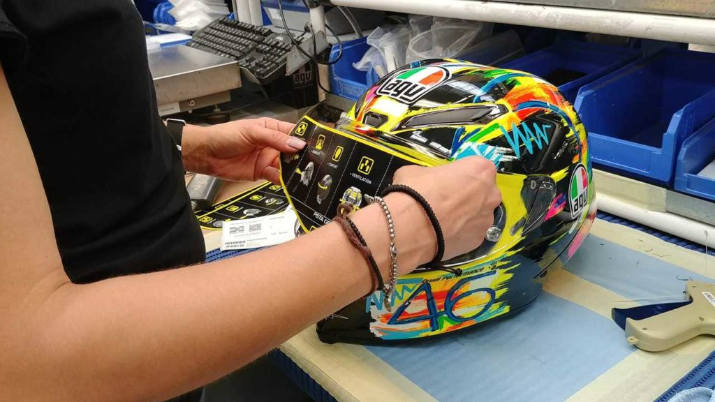 Motorcycle Helmet Construction