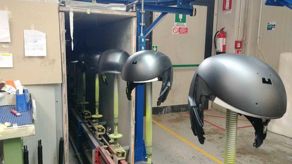motorcycle helmet construction