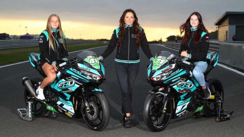 women motorcycle riders